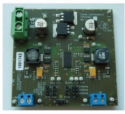 Entwicklungsboard Texas Instruments TPS43351EVM