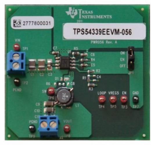 Entwicklungsboard Texas Instruments TPS54339EEVM-056