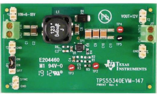 Entwicklungsboard Texas Instruments TPS55340EVM-147