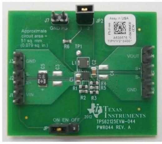 Entwicklungsboard Texas Instruments TPS62125EVM-044