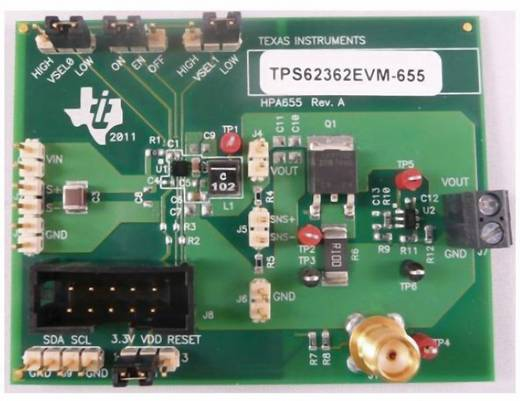 Entwicklungsboard Texas Instruments TPS62362EVM-655