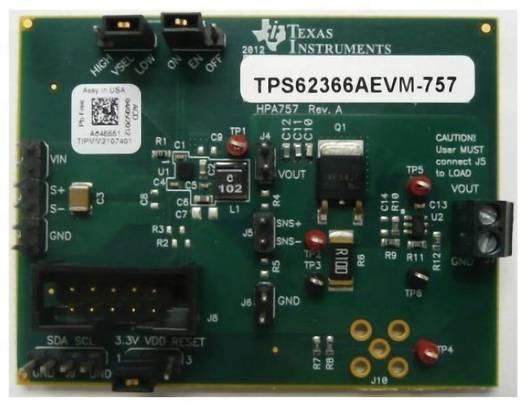 Entwicklungsboard Texas Instruments TPS62366AEVM-757