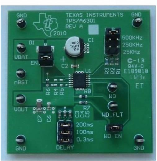 Entwicklungsboard Texas Instruments TPS7A6301EVM