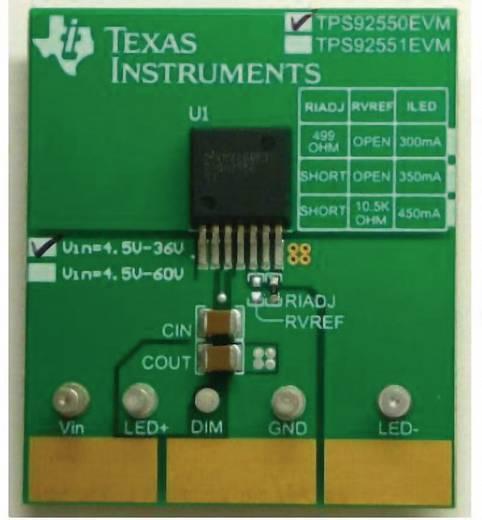 Entwicklungsboard Texas Instruments TPS92550EVM/NOPB