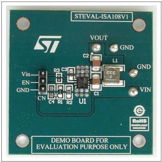 Entwicklungsboard STMicroelectronics STEVAL-ISA108V1