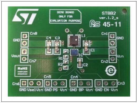 Entwicklungsboard STMicroelectronics STEVAL-ISA109V1