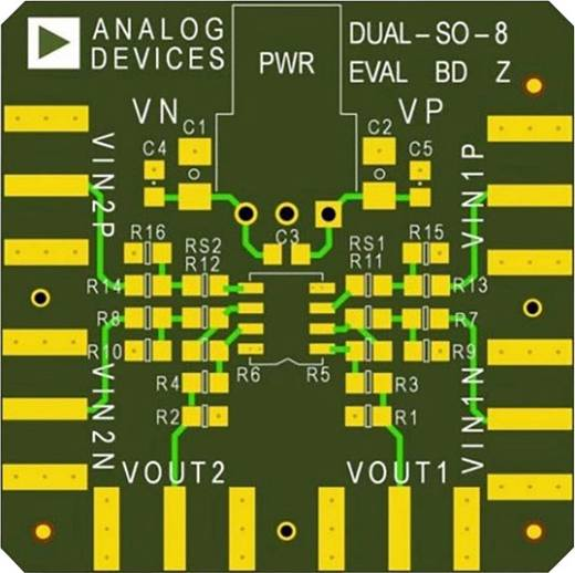 Platine (unbestückt) Analog Devices AD8022AR-EBZ