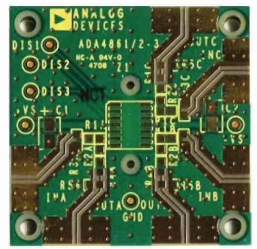 Platine (unbestückt) Analog Devices AD8073JR-EBZ