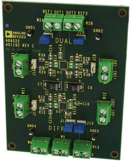 Entwicklungsboard Analog Devices AD8222-EVALZ