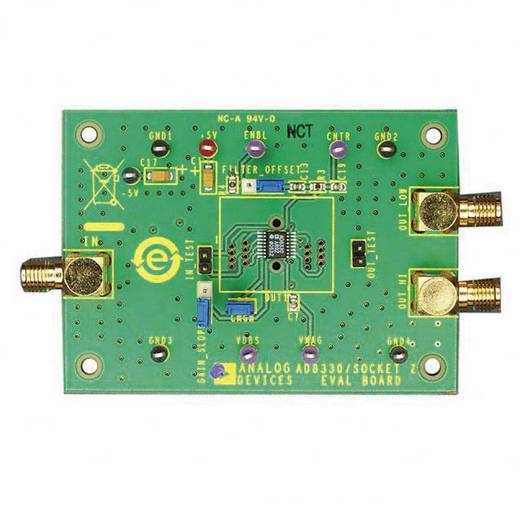 Entwicklungsboard Analog Devices AD8330-EVALZ