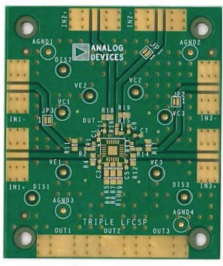 Platine (unbestückt) Analog Devices AD8003ACP-EBZ
