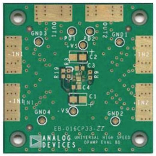 Platine (unbestückt) Analog Devices ADA4850-2YCP-EBZ