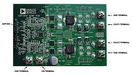 Entwicklungsboard Analog Devices ADP1850SP-EVALZ