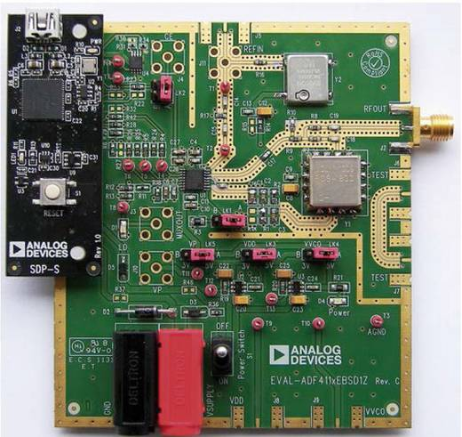 Entwicklungsboard Analog Devices EV-ADF4153SD1Z