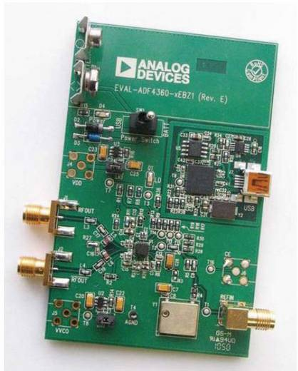 Entwicklungsboard Analog Devices EV-ADF4360-6EB1Z
