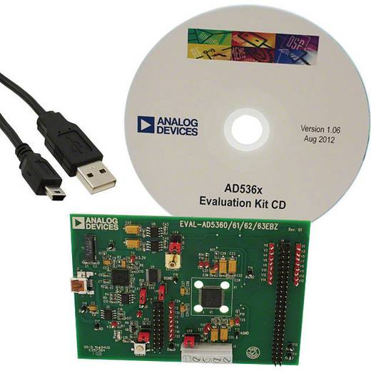 Entwicklungsboard Analog Devices EVAL-AD5360EBZ