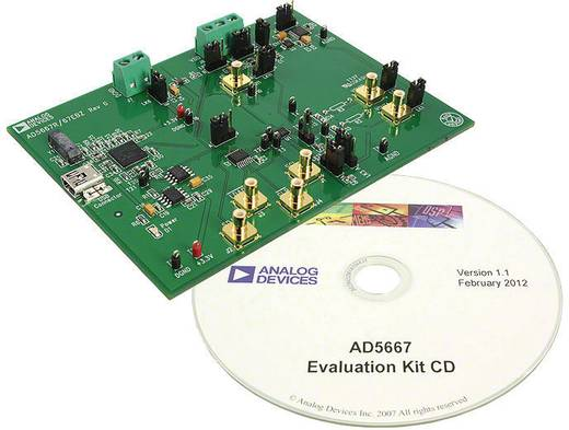 Entwicklungsboard Analog Devices EVAL-AD5667REBZ