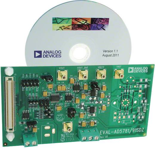Entwicklungsboard Analog Devices EVAL-AD5791SDZ