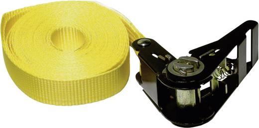 Einteiliger Spanngurt Zugkraft LC Niederzurren (einzeln/direkt)=400 daN (L x B) 6 m x 25 mm Kunzer ZG 6,0 LC 400 daN