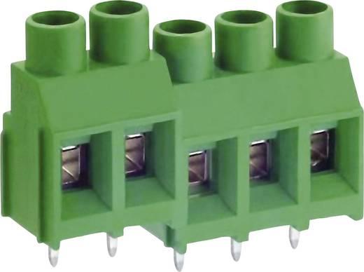 DECA MB912-762M02 Schraubklemmblock 5.26 mm² Polzahl 2 Grün 1 St.
