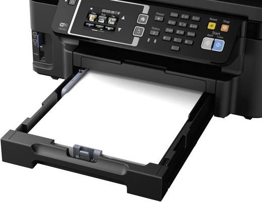 Epson WorkForce WF-3620DWF Tintenstrahl-Multifunktionsdrucker A4 Drucker, Fax, Kopierer, Scanner ADF, Duplex, LAN, WLAN