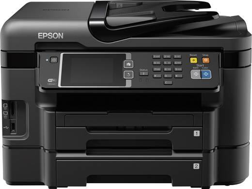 epson workforce wf 3640dtwf tintenstrahl multifunktionsdrucker a4 drucker fax kopierer. Black Bedroom Furniture Sets. Home Design Ideas