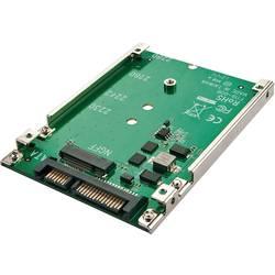 Adaptér rozhraní Renkforce RF-2384498, [1x kombinovaná SATA zástrčka 15+7-pólová - 1x M.2 NGFF ]