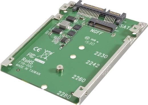Schnittstellen-Konverter [1x SATA-Kombi-Stecker 7+15pol. - 1x M.2 NGFF] Renkforce 28554C167
