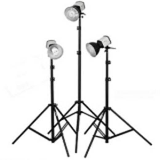 Fotolampe Walimex Studioset Daylight 150/150/150 25 W