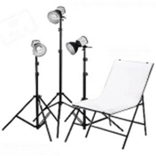 Fotolampe Walimex Studioset Daylight 150/150/150+A