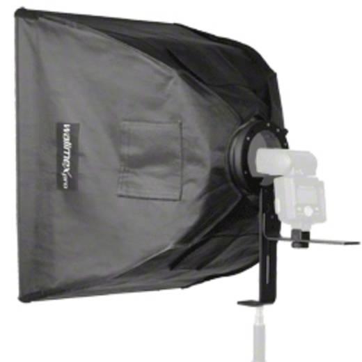 Softbox Walimex Pro 17003 Softbox 60x60cm für Kompaktb Länge=720 mm