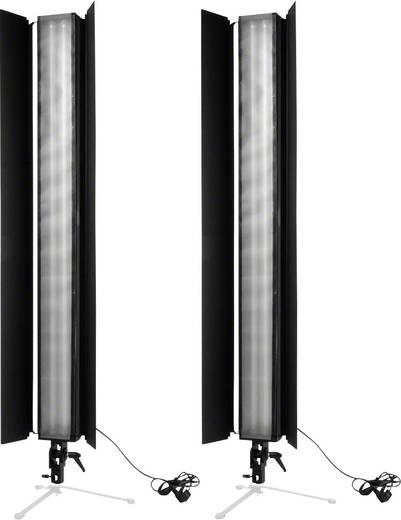 Fotolampe Walimex 2er Set Daylight Stripe 110W Abs
