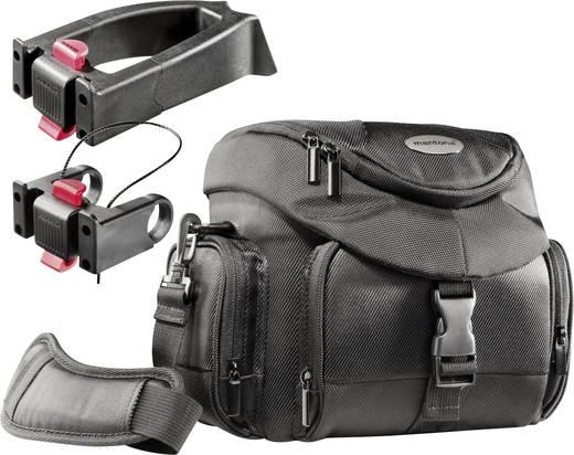 Kameratasche Mantona Set Premium Biker Fototasche + 2 Innenmaß (B x H x T) 210 x 190 x 100 mm Lenkerbefestigung