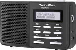 DAB+ přenosné rádio TechniSat DigitRadio 210, DAB+, FM, černá