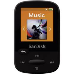 MP3 prehrávač SanDisk Sansa Clip Sport, 8 GB, upevňovací klip, FM rádio, čierna