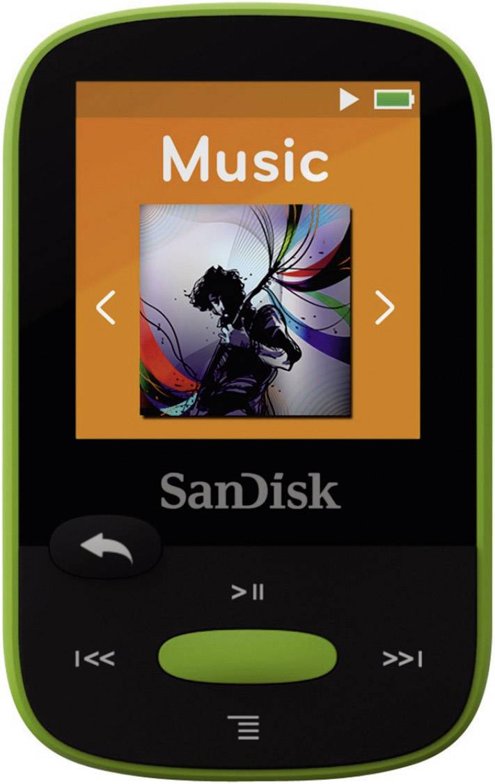 mp3 player sandisk sansa clip sport 8 gb green cli from conrad rh conrad electronic co uk sandisk sansa clip+ 8gb mp3 player manual sansa clip 2gb mp3 player manual