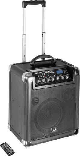 Mobiler PA Lautsprecher 20 cm 8 Zoll LD Systems Road Jack 8 akkubetrieben 1 St.