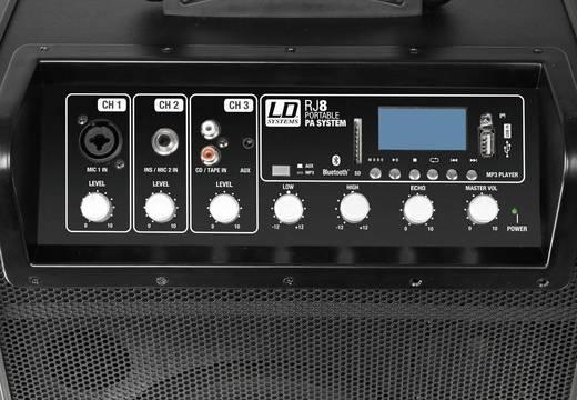LD Systems Road Jack 8 Mobiler PA Lautsprecher 20 cm 8 Zoll akkubetrieben 1 St.