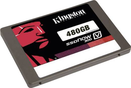 Kingston V300 Interne SSD 6.35 cm (2.5 Zoll) 480 GB Retail SV300S37A/480G SATA III