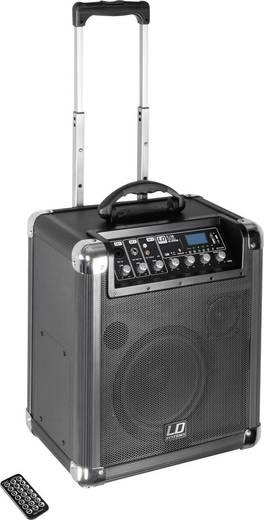 Mobiler PA Lautsprecher 25 cm 10 Zoll LD Systems Road Jack 10 akkubetrieben 1 St.