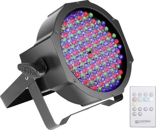 LED-PAR-Scheinwerfer Cameo CLPFLAT1RGB10IR Anzahl LEDs: 144 x Schwarz