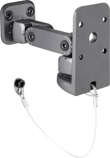 PA-Lautsprecher-Halterung Neigbar, Schwenkbar Adam Hall SUWMB10B 1 St.