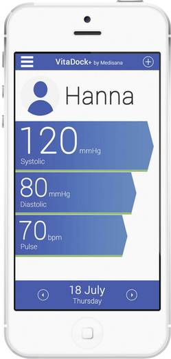 Handgelenk Blutdruckmessgerät Medisana BW 300 Connect 51294