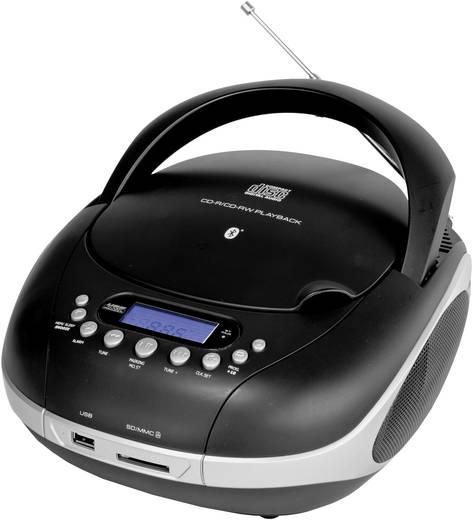 UKW CD-Radio Silva Schneider MPC 320 BT Schwarz