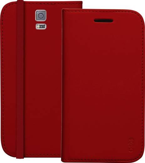 Emporia Booklet Passend für: Samsung Galaxy S5, Samsung Galaxy S5 G900F, Samsung Galaxy S5 Neo Rot