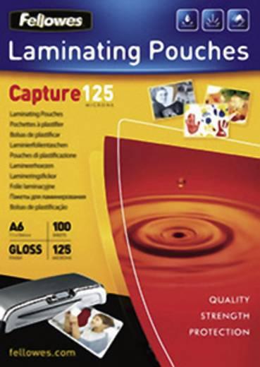 Laminierfolie Fellowes DIN A6 125 micron glänzend 100 St.