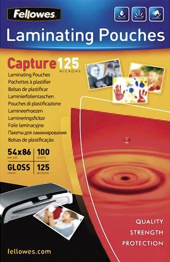 Laminierfolie Fellowes 86 x 54 mm, Kreditkarte 125 micron glänzend 100 St.