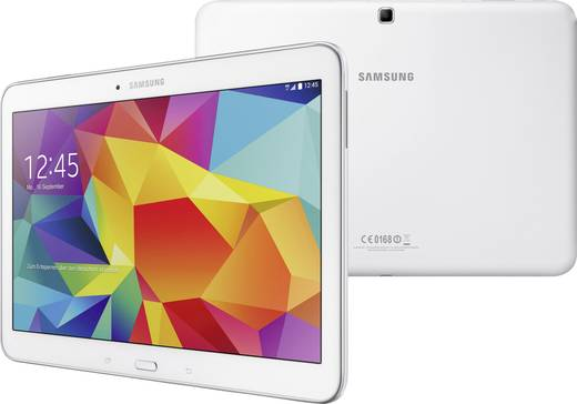Samsung Tab 4 10.1 Galaxy Tab 4 Android-Tablet 25.7 cm (10.1 Zoll) 16 GB LTE/4G Weiß 1.2 GHz Quad Core Android™ 4.4 1280