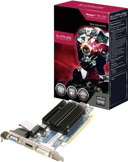 Sapphire Grafikkarte AMD Radeon R5 230 2 GB DDR3-RAM PCIe x16 HDMI™, DVI, VGA