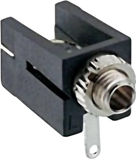 Klinken-Steckverbinder 2.5 mm Buchse, Einbau horizontal Polzahl: 2 Mono Schwarz Lumberg 1501 09 1 St.
